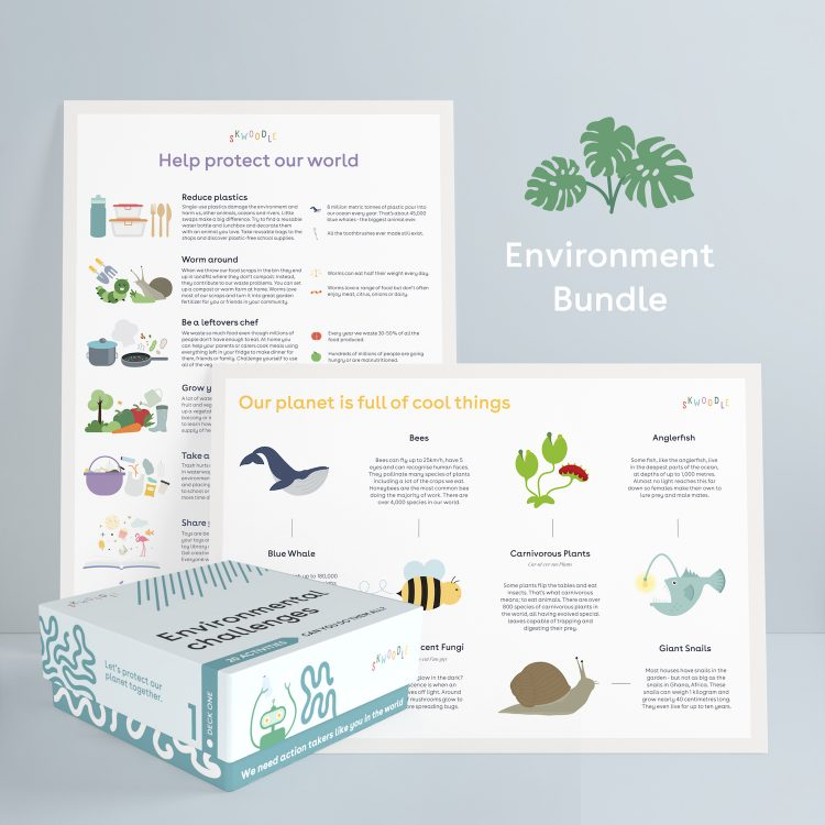 Environment nature science biodiversity gift Skwoodle Kids