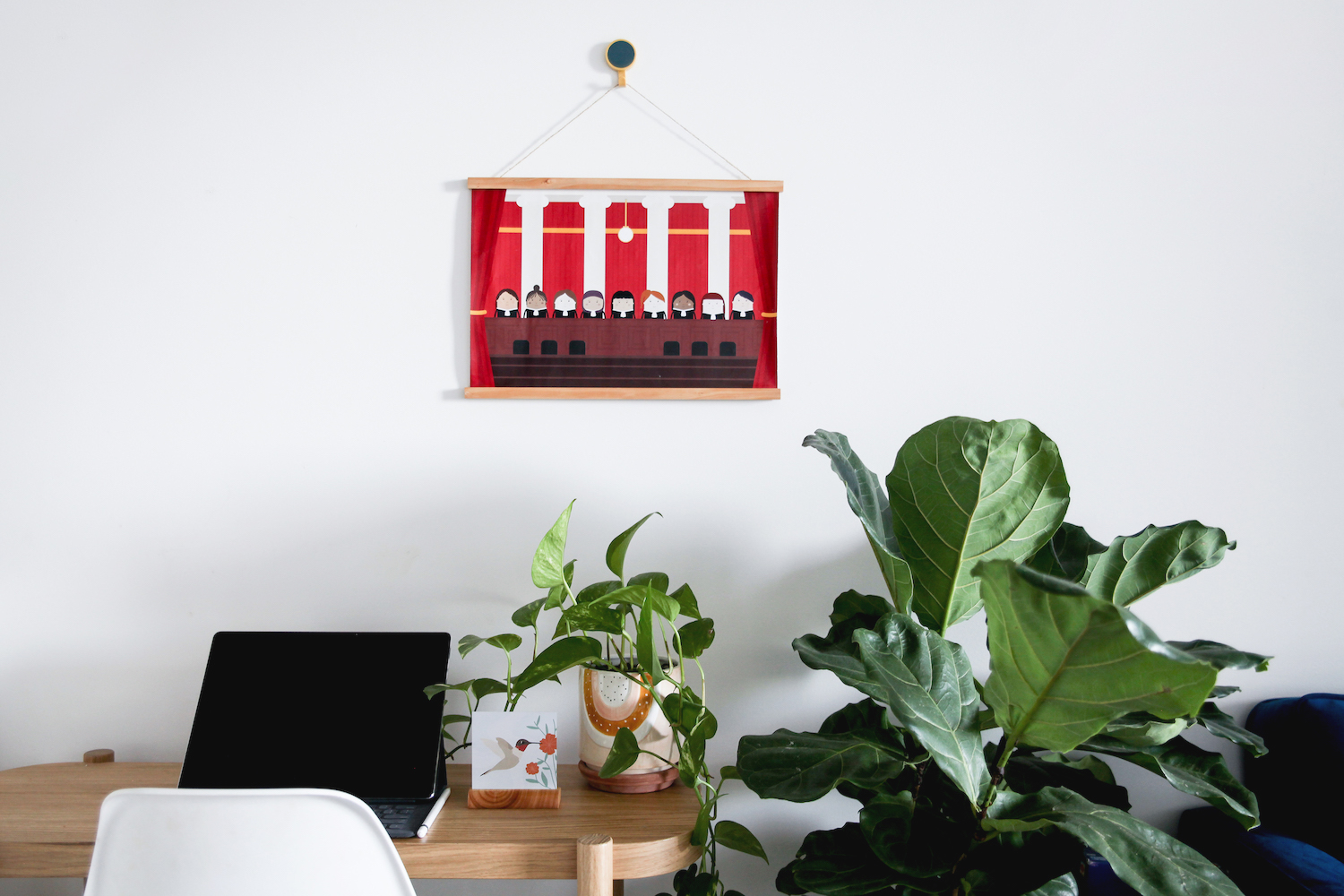 Skwoodle Light Wood Wooden Timber Hanging Frame A4 A3 A2 A1 Posters Prints Handmade Ethical Sustainable - Skwoodle